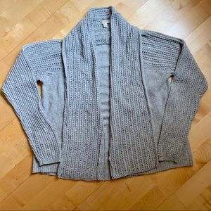 Sonoma Open Front Sweater Knit Cozy Cardigan